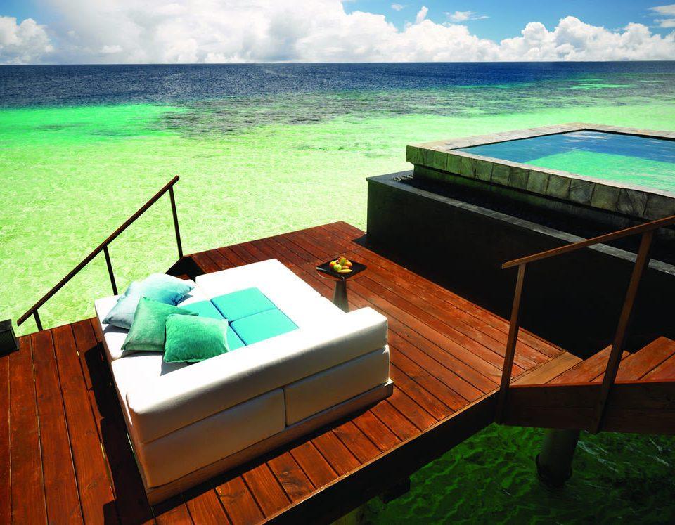 sky water leisure swimming pool wooden Sea Villa