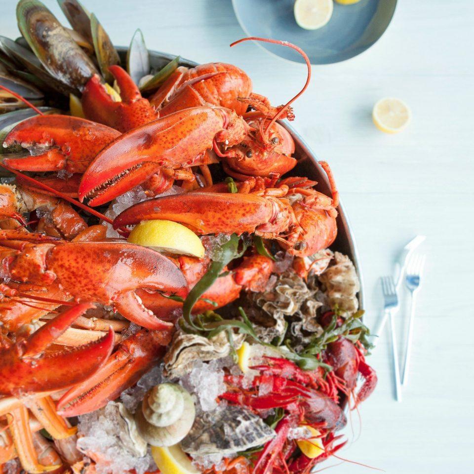 food arthropod animal invertebrate cuisine Seafood fish spaghetti animal source foods meat lobster
