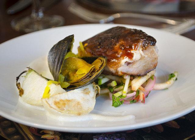 plate food white Seafood restaurant fish lunch dinner sense brunch meat cuisine animal source foods breakfast
