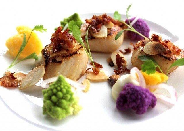 plate food hors d oeuvre cuisine Seafood vegetable salad sense meat arranged fresh