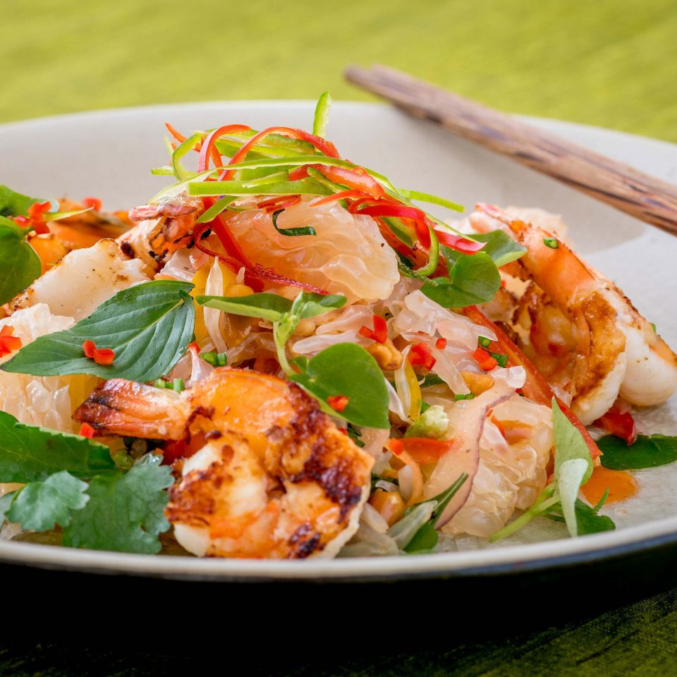 food plate cuisine pad thai Seafood thai food fish asian food southeast asian food shrimp scampi caridean shrimp