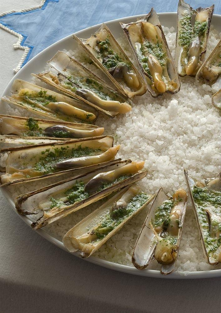 food plate forage fish sardine Seafood fish vegetable cuisine herring mussel asparagus