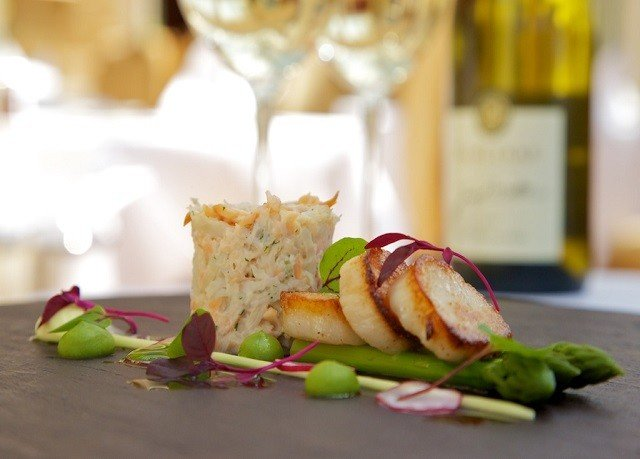 food plate brunch restaurant breakfast sense cuisine vegetable Seafood close