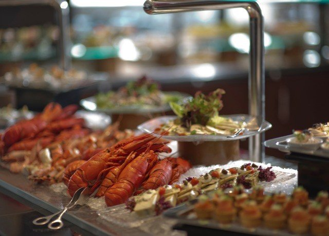 food buffet restaurant brunch Seafood cuisine tray sense meat