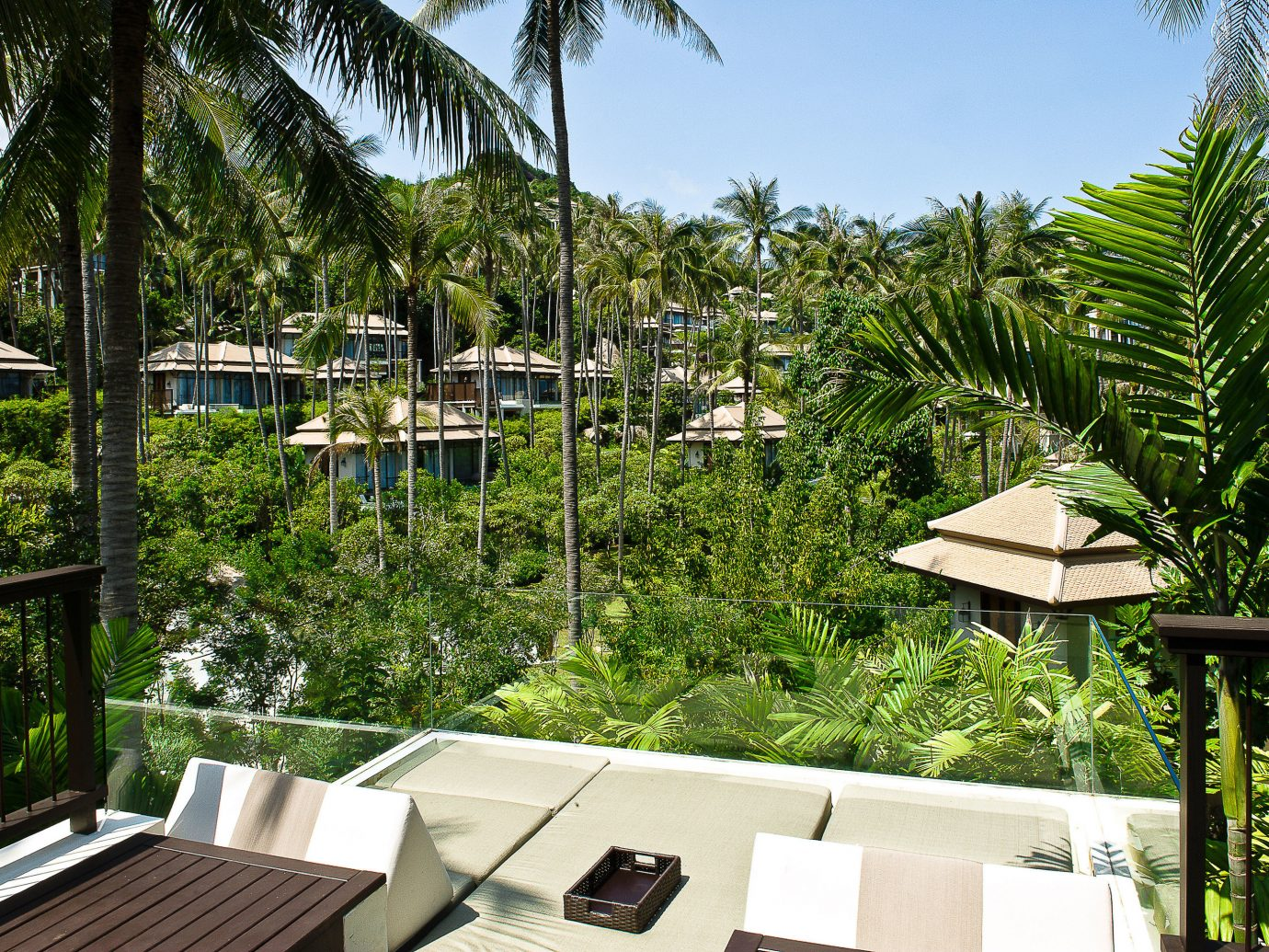 Bungalows At Banyan Tree Sumui Hotel In Thailand