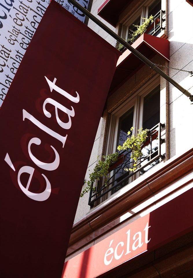 building sign color red advertising poster signage restaurant brand shape banner Shop