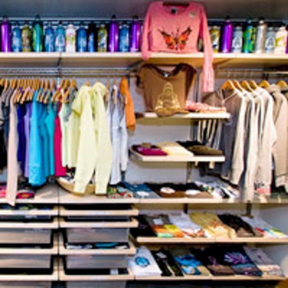 shelf book closet retail colorful cluttered Shop
