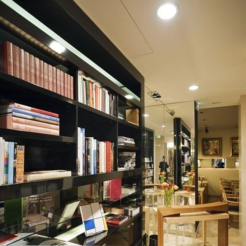 book shelf library scene home retail Shop