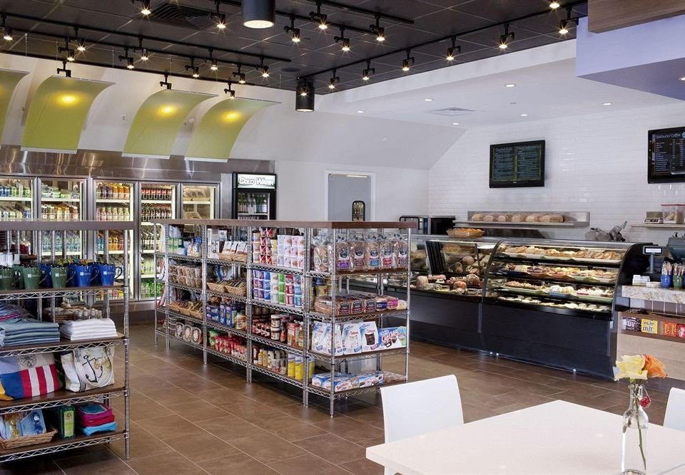 scene building retail grocery store shelf supermarket convenience store bookselling store Shop