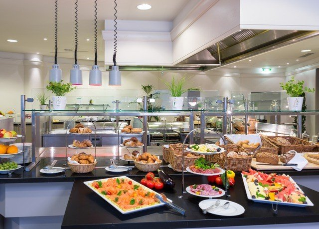 food plate counter buffet cuisine restaurant cafeteria fast food restaurant brunch Shop