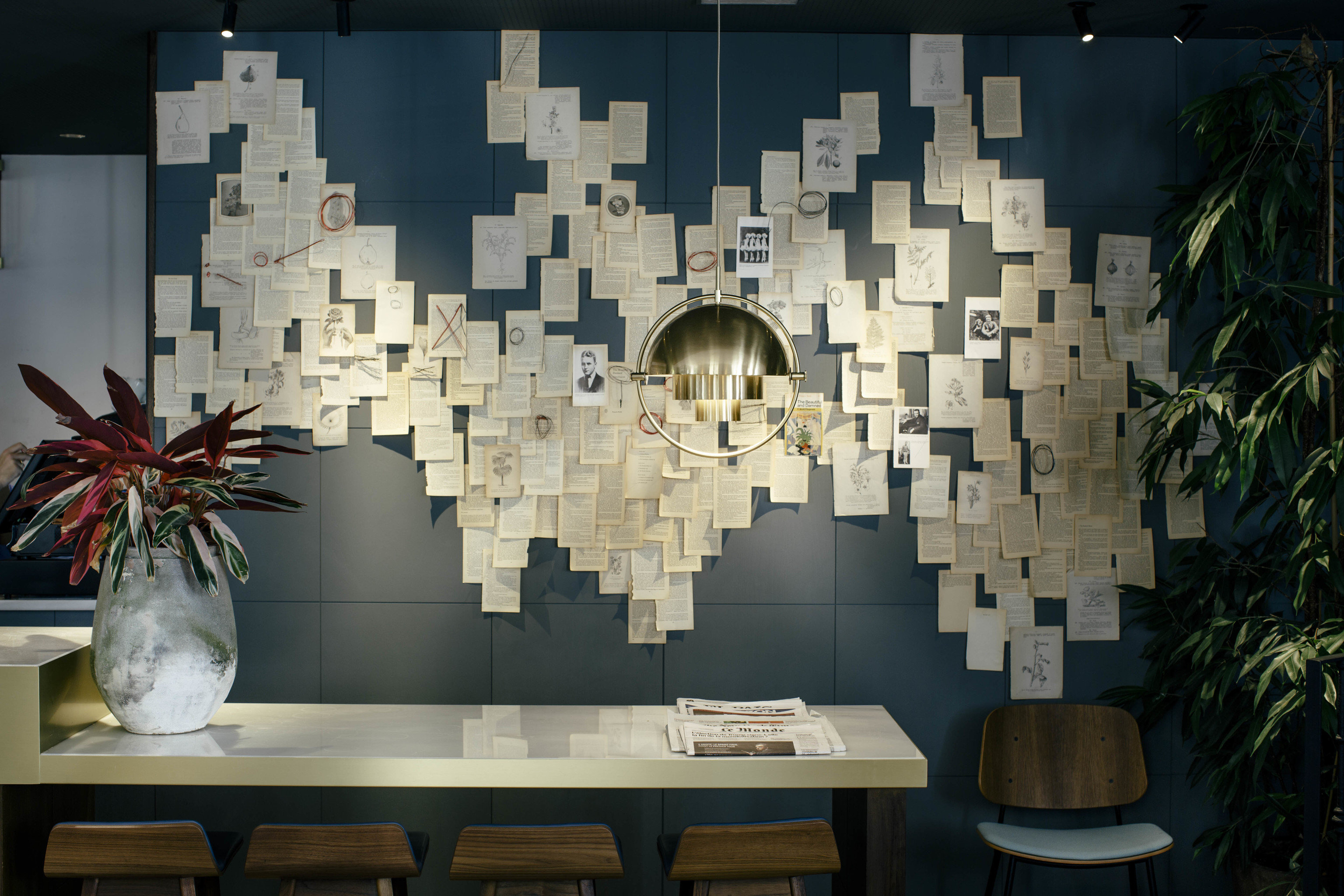 Hotels wall art modern art Design interior design living room
