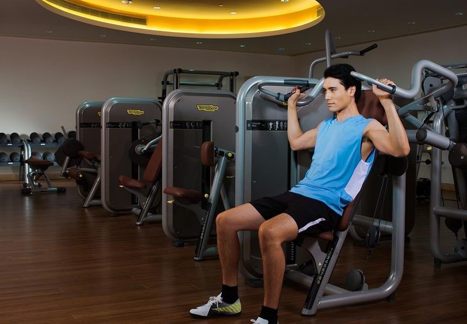 structure human action chair gym Sport sport venue exercise device bodypump muscle arm strength training physical fitness sports physical exercise biceps curl female