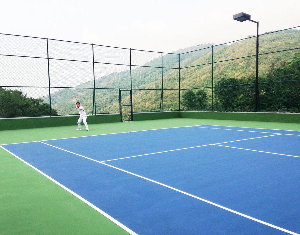 athletic game Sport tennis sky court structure sports tennis court sport venue ball game leisure centre soccer specific stadium net baseball field stadium