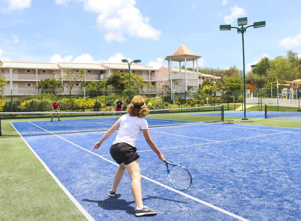 sky Sport grass athletic game structure sports ball game tennis leisure racquet sport sport venue tennis court net soft tennis paddle tennis