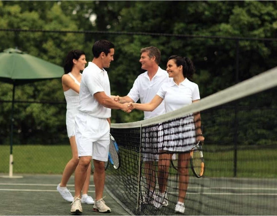 tree tennis Sport athletic game court sports luxury vehicle net