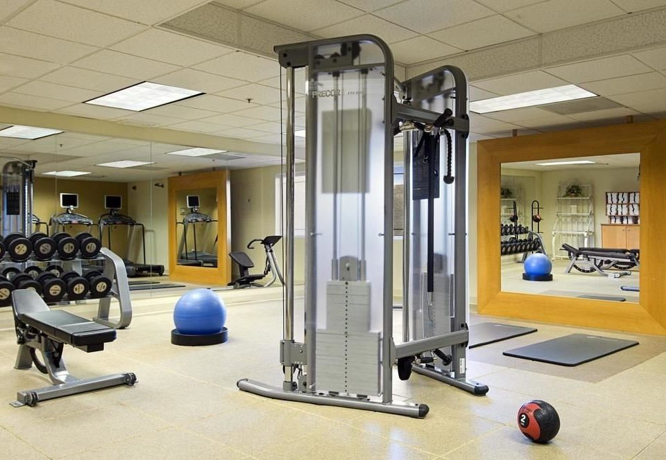 structure gym Sport sport venue office barbell