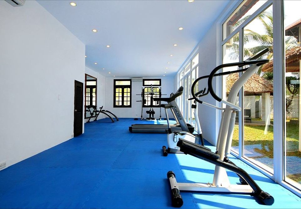 structure gym property sport venue condominium Sport home blue