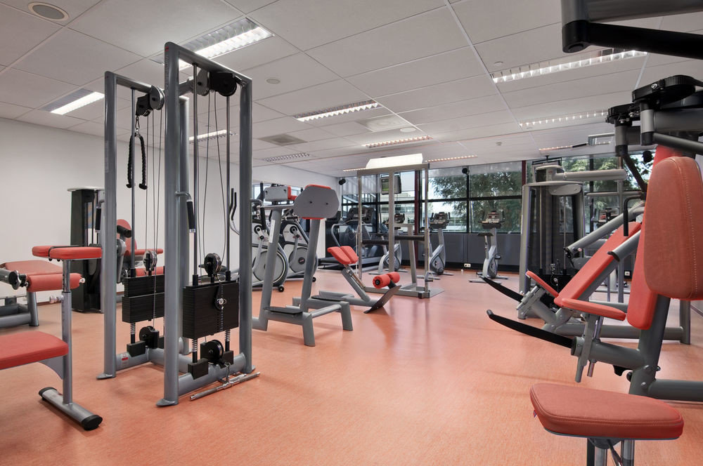 Sport chair structure gym computer desk office sport venue exercise device muscle equipment cluttered