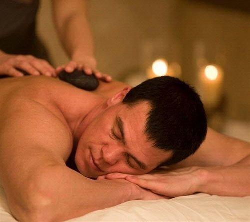 man Sport male muscle wrestling mouth leg sense massage interaction chest