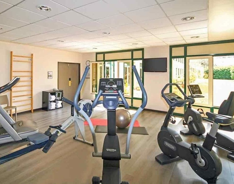 structure gym sport venue desk condominium Sport office cluttered