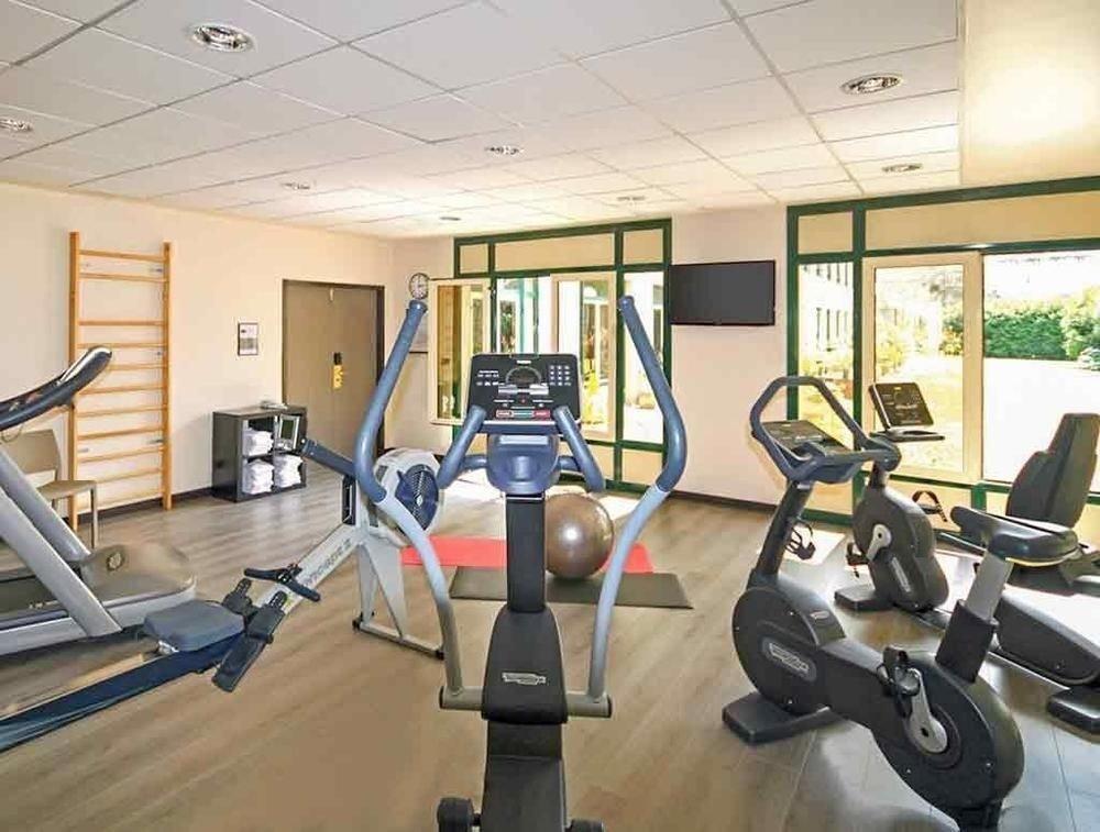 structure gym sport venue desk condominium Sport office cluttered