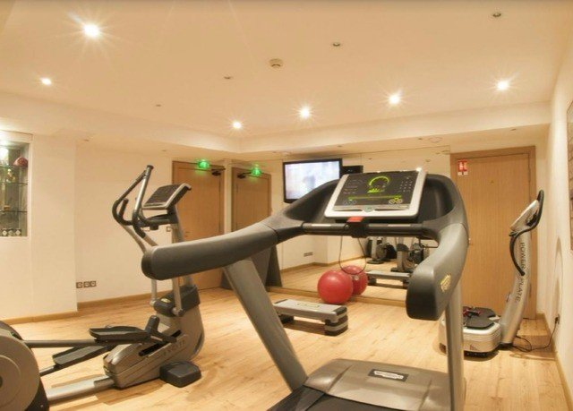 structure Sport property exercise device gym sport venue exercise machine office condominium cluttered