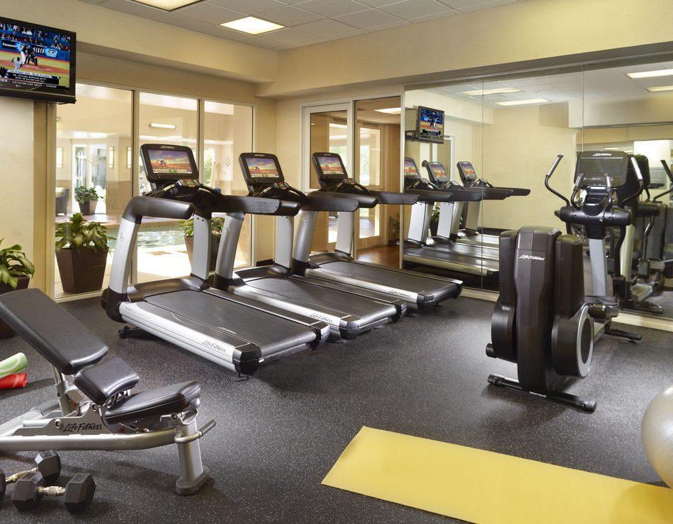 structure gym sport venue Sport office condominium cluttered