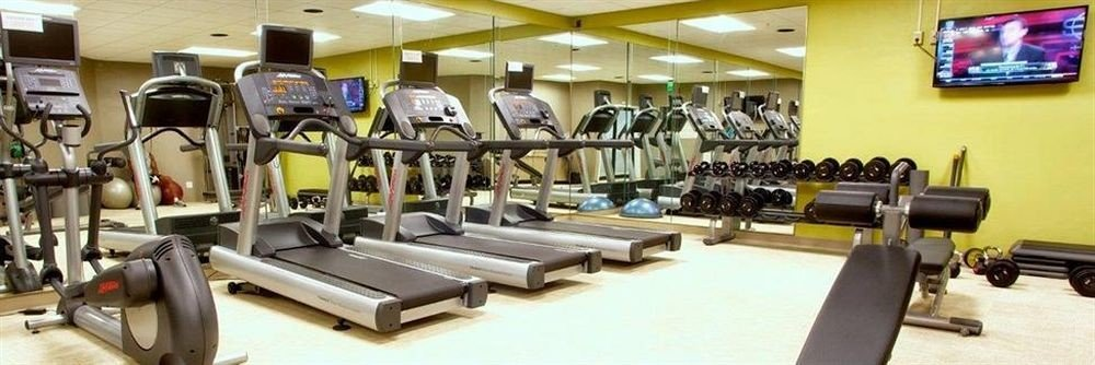 structure gym sport venue Sport office exercise device cluttered