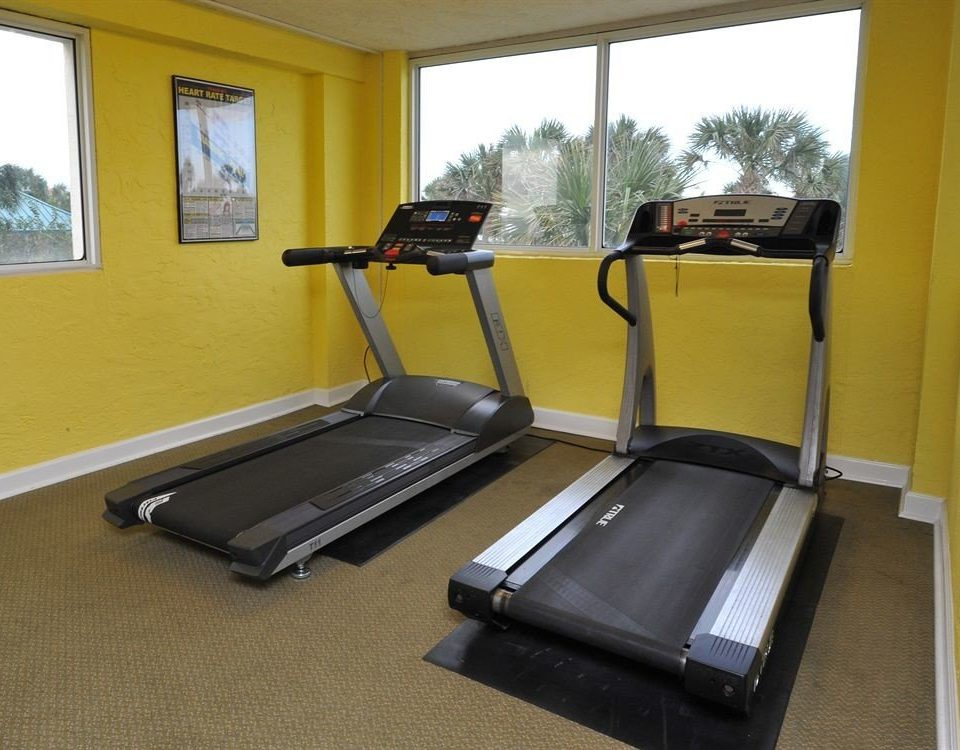 Sport structure exercise device exercise machine sport venue gym exercise equipment sports equipment yellow treadmill