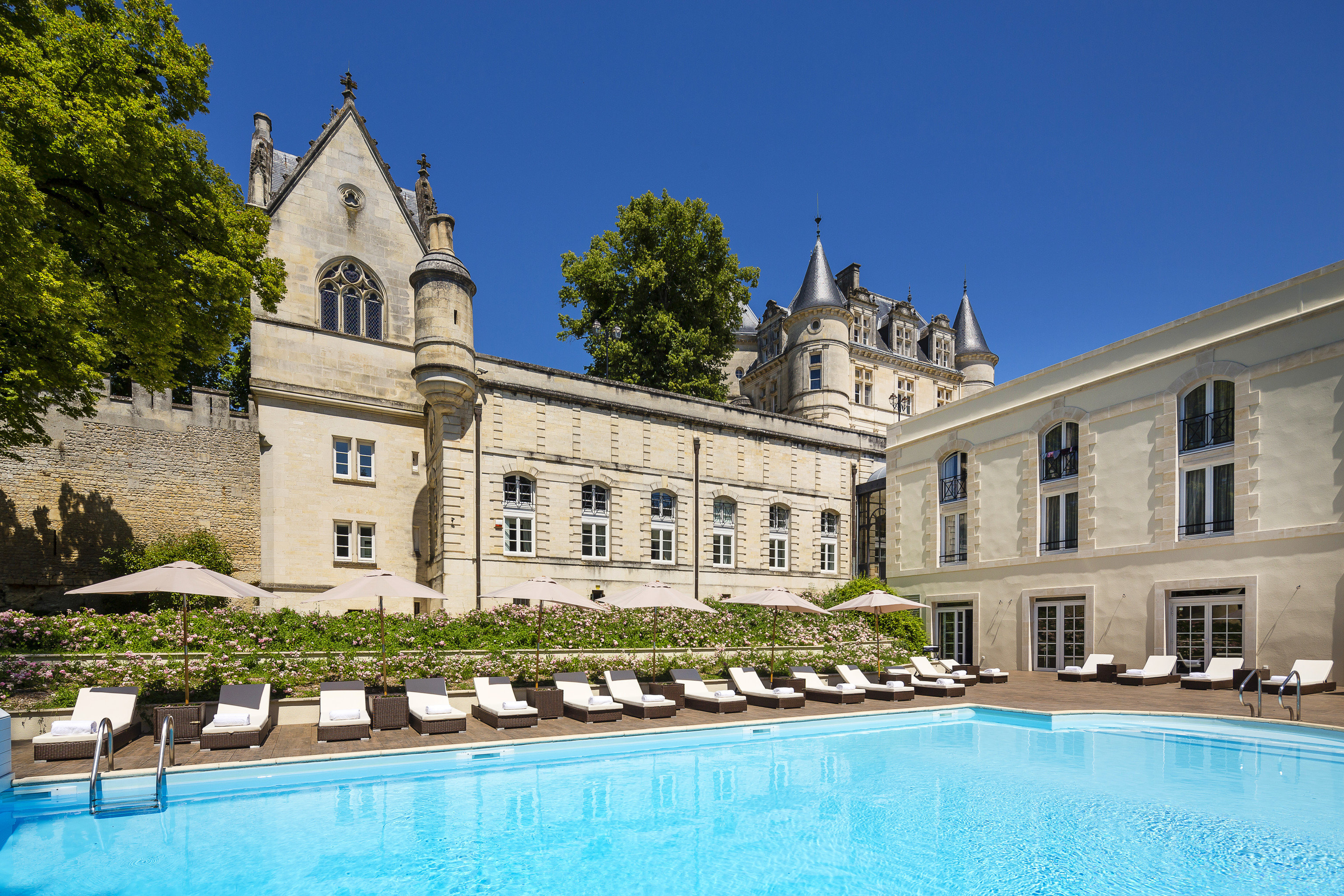 Hotels Trip Ideas outdoor tree building property estate château Pool palace mansion Villa swimming pool stately home swimming Resort