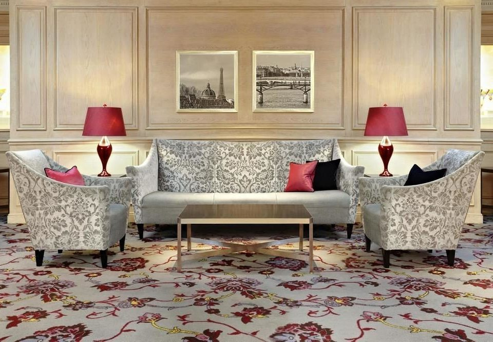 living room property home hardwood flooring Suite bed sheet cottage wood flooring containing arranged