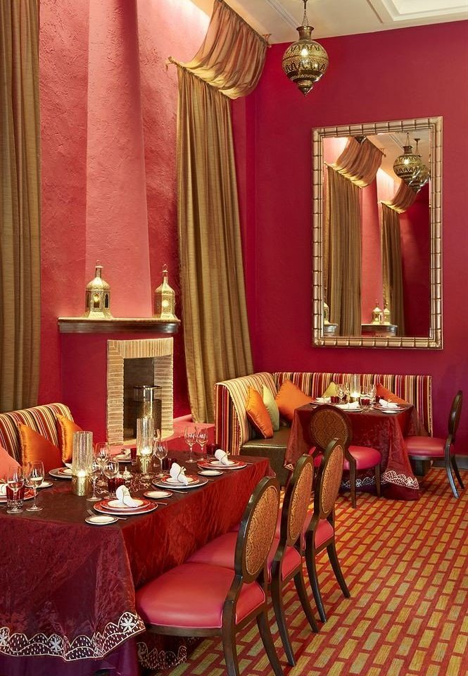 red function hall restaurant Suite living room ballroom