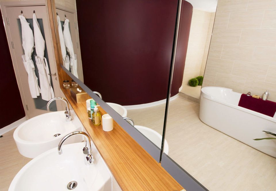 property bathroom flooring bathtub Suite plumbing fixture