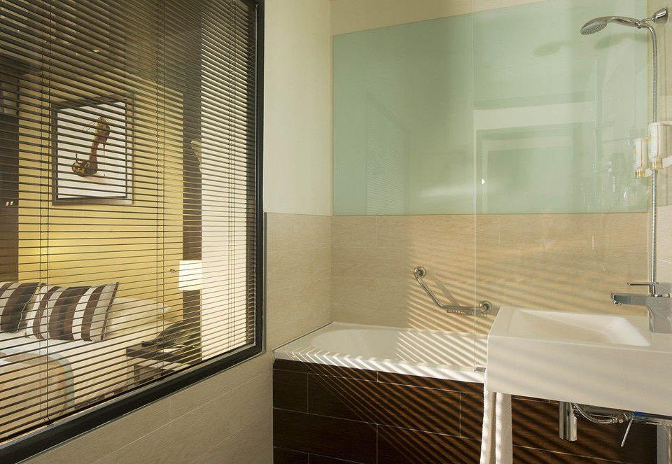 bathroom property scene Suite tub tiled bathtub