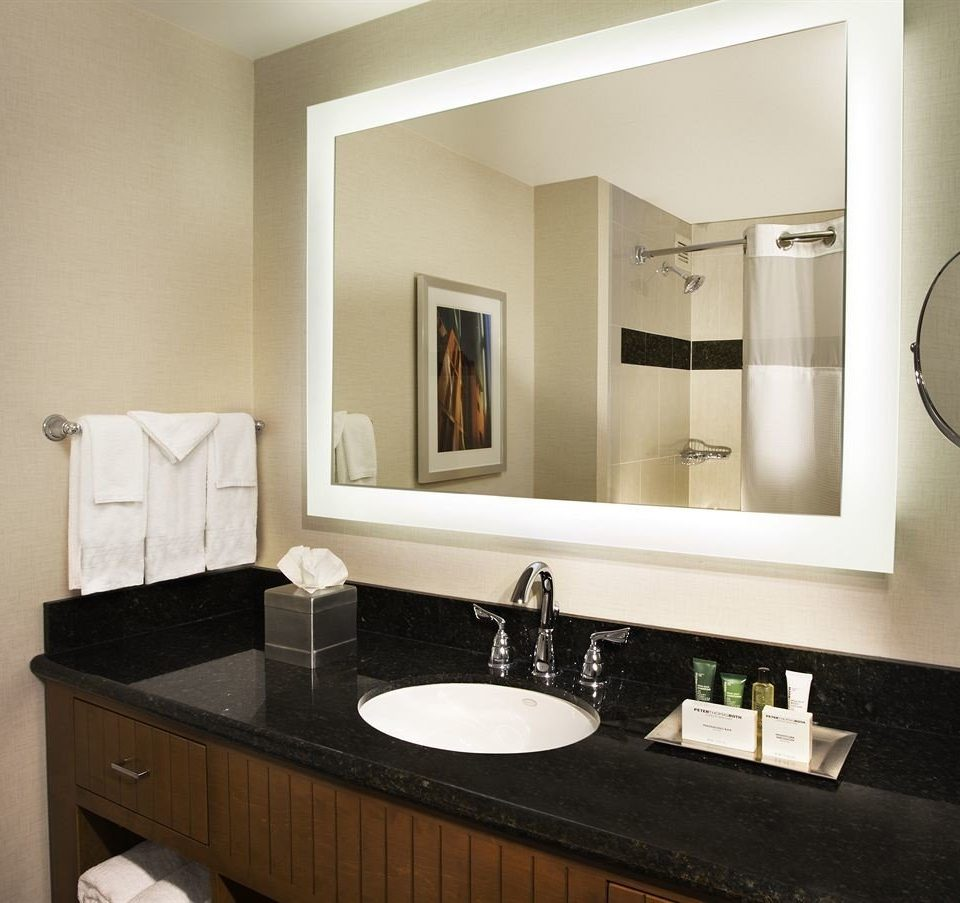 bathroom mirror sink property home black living room Suite cabinetry plumbing fixture