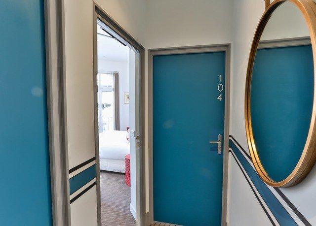 color blue door bathroom Suite glass