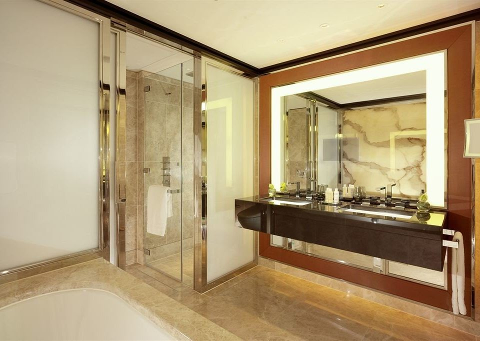 bathroom property building mirror house home sink Suite cabinetry plumbing fixture mansion
