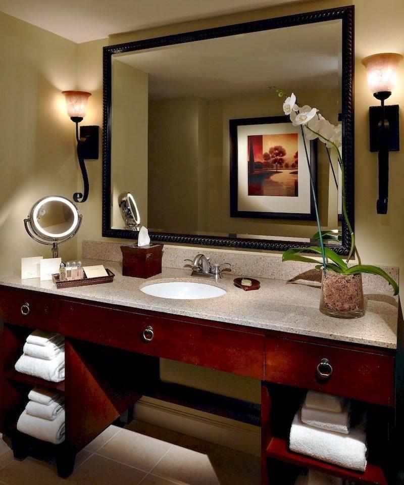 bathroom mirror sink home living room countertop lighting Suite cabinetry recreation room