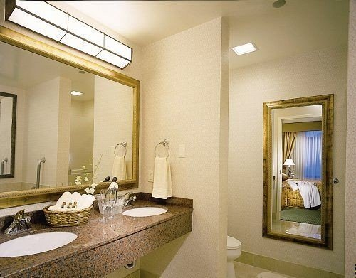 bathroom sink mirror property vanity home condominium Suite towel living room mansion cottage
