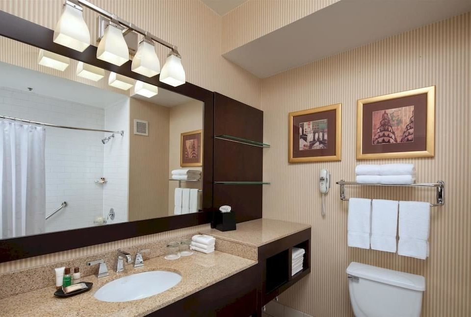 bathroom sink property mirror home cottage Suite condominium