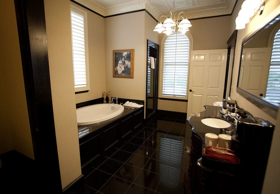 bathroom property sink home Suite condominium cottage tile tiled