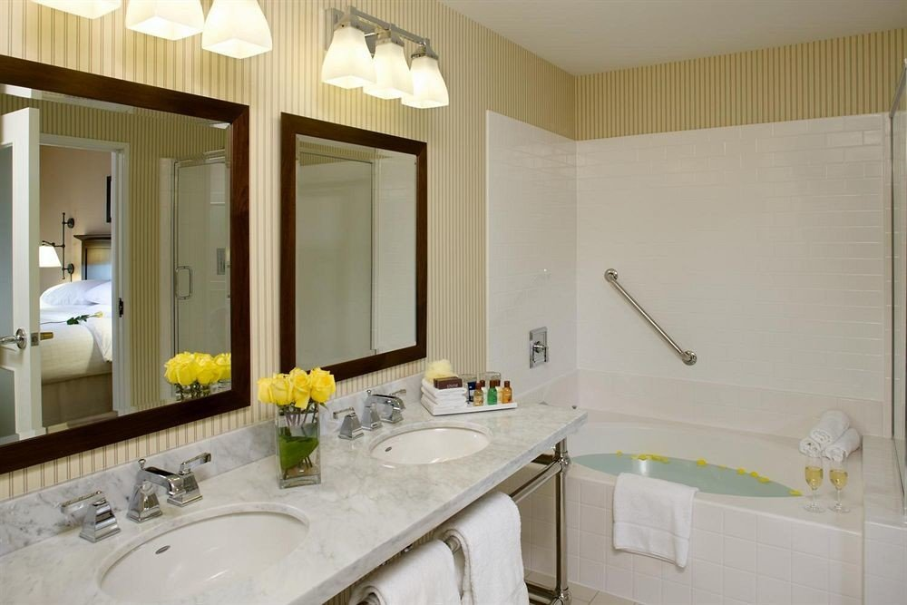 bathroom sink mirror property toilet home Suite cottage counter condominium