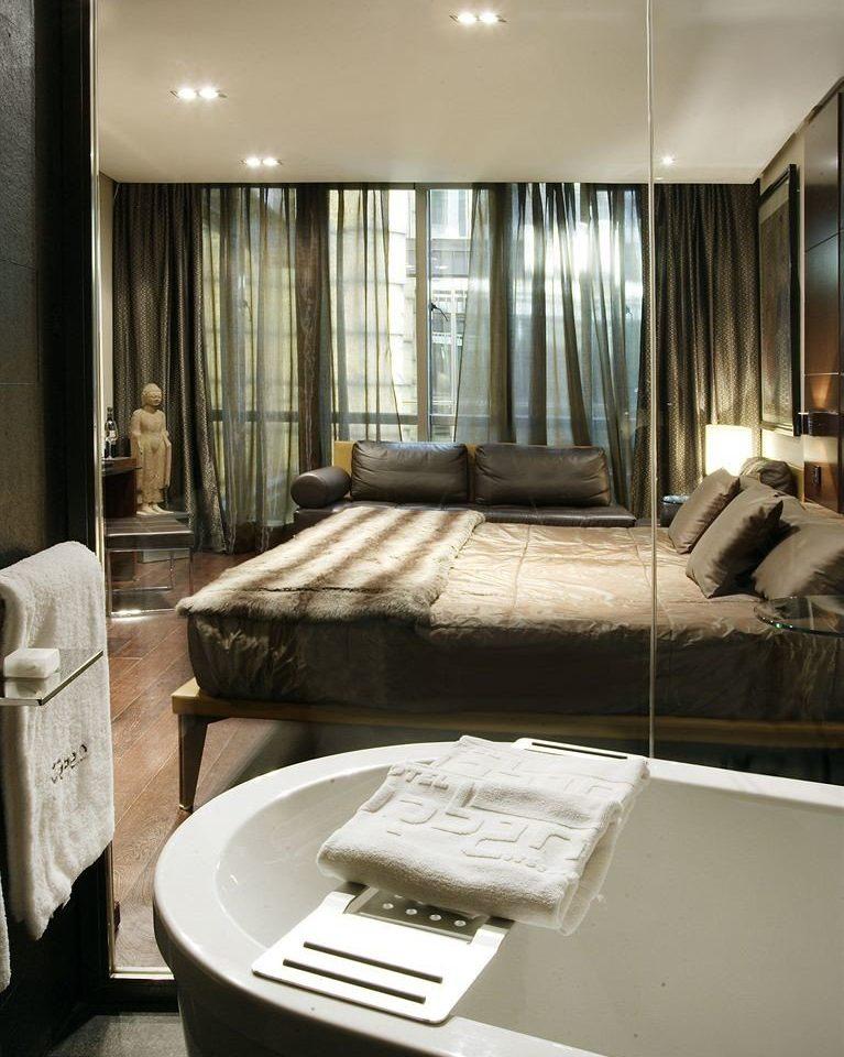 property house home Suite living room condominium bathroom