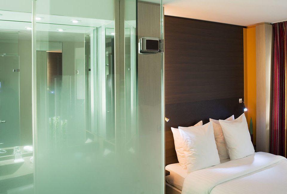 property Suite white condominium bathroom