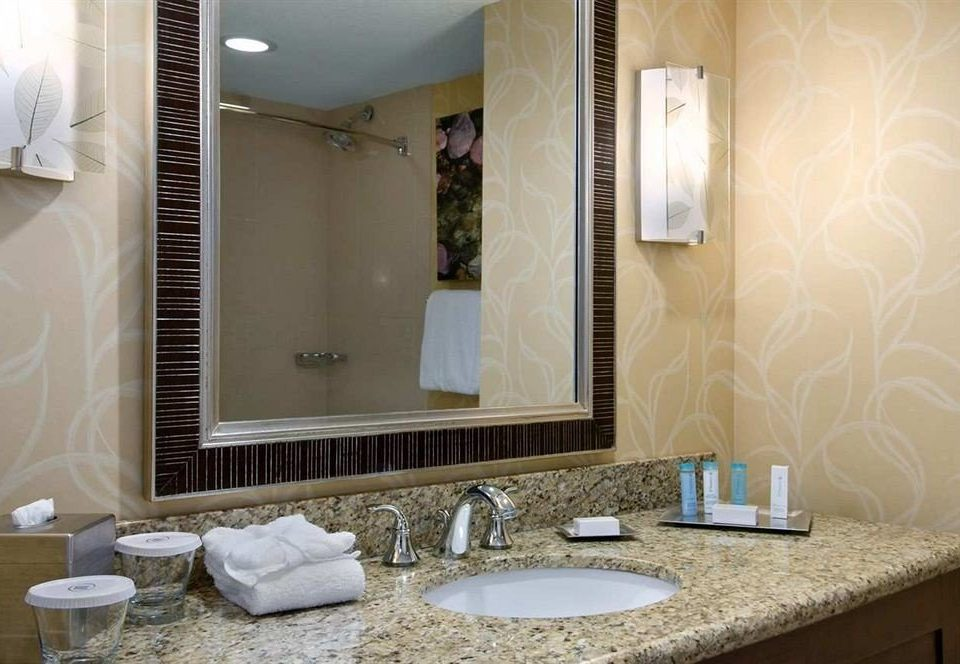 bathroom mirror sink property home Suite cottage living room counter