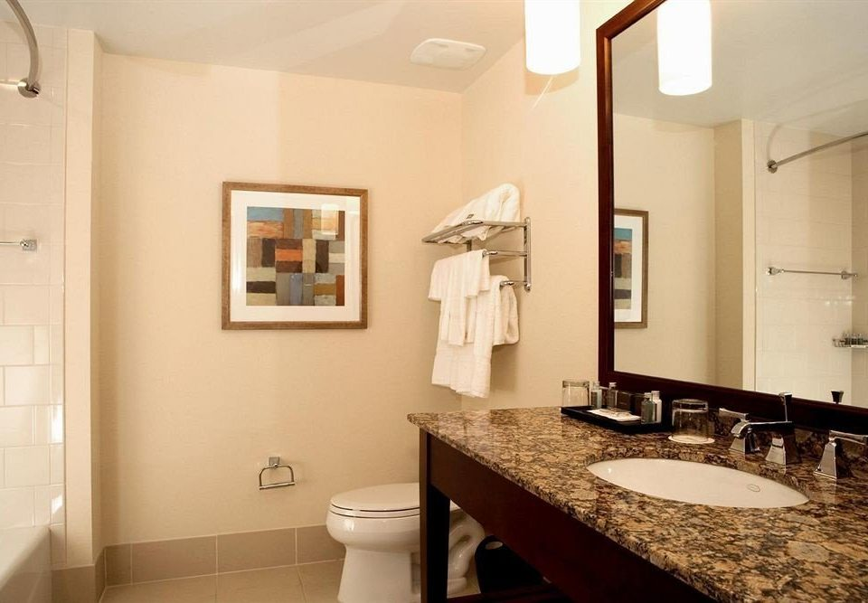 bathroom mirror property sink home cottage Suite counter