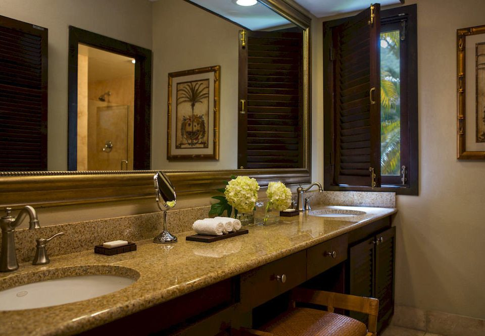bathroom mirror sink property home Suite counter countertop mansion cottage