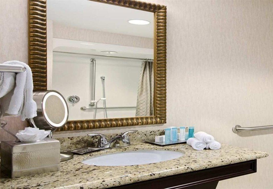 bathroom property sink home living room flooring countertop cottage Suite tile