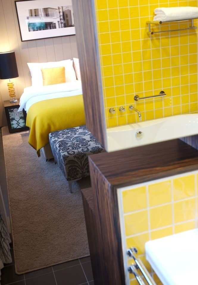 yellow property home cottage Suite flooring bathroom
