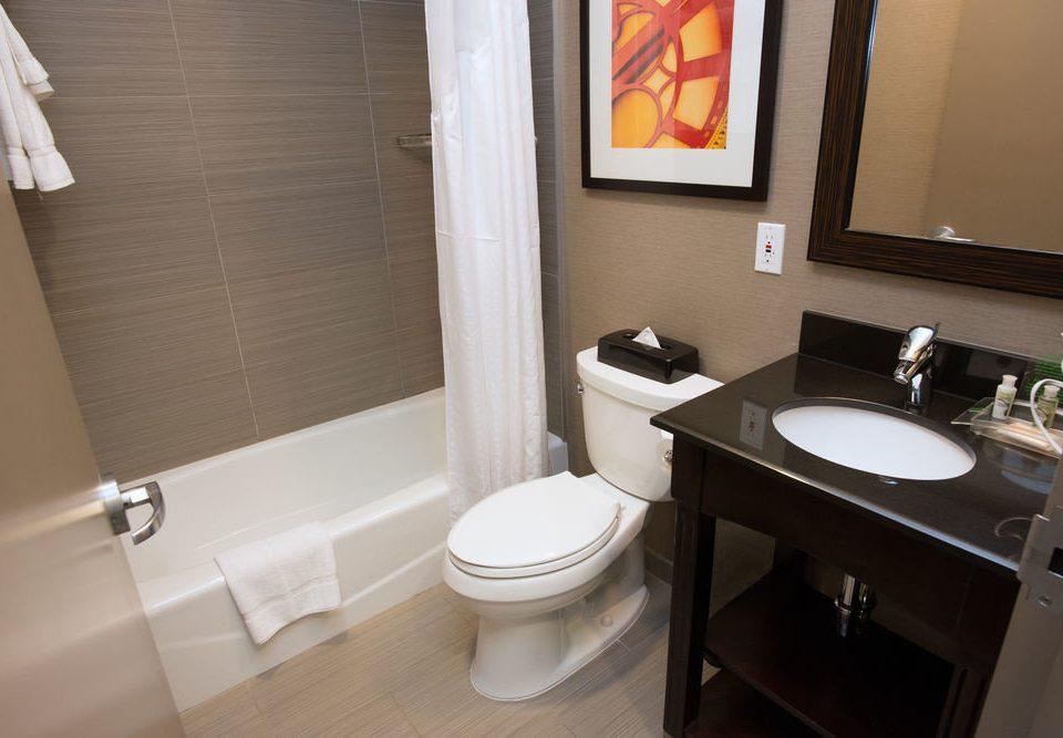 bathroom toilet sink property home white Suite cottage flooring tile rack